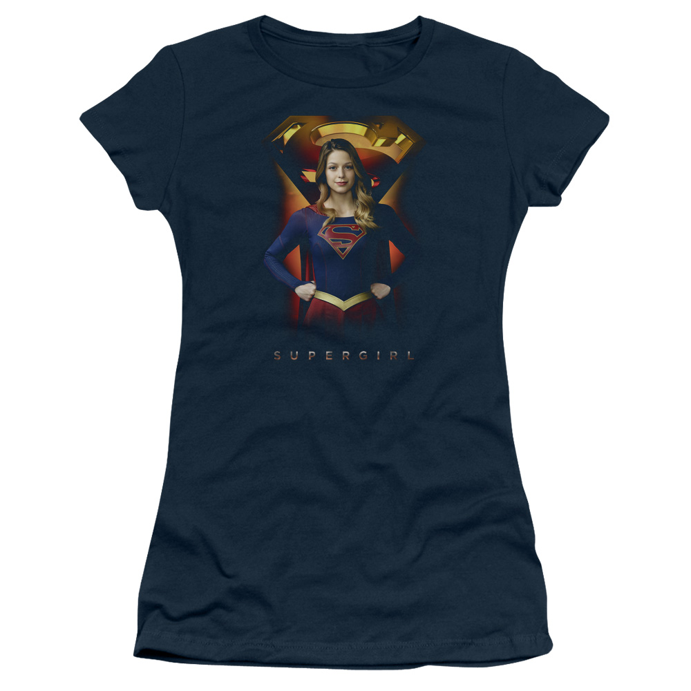 Supergirl TV Series - Standing Junior Fit T Shirt