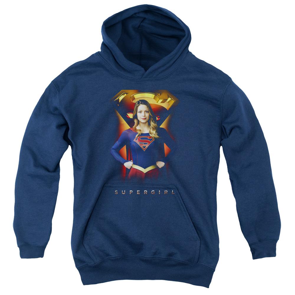 Supergirl TV Series - Standing Kids Hoodie