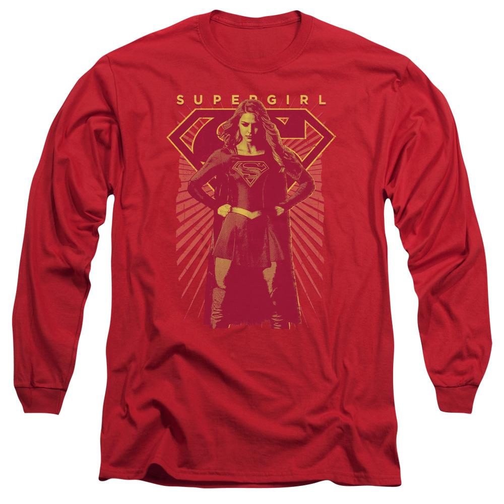 Supergirl TV Series - Ready Set Long Sleeve Shirt