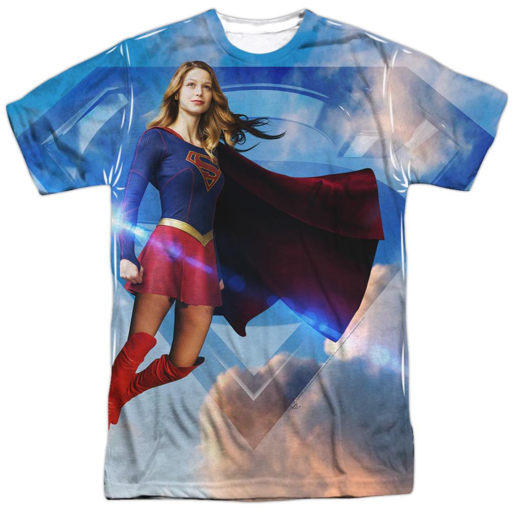Supergirl Noir Licensed Adult T Shirt
