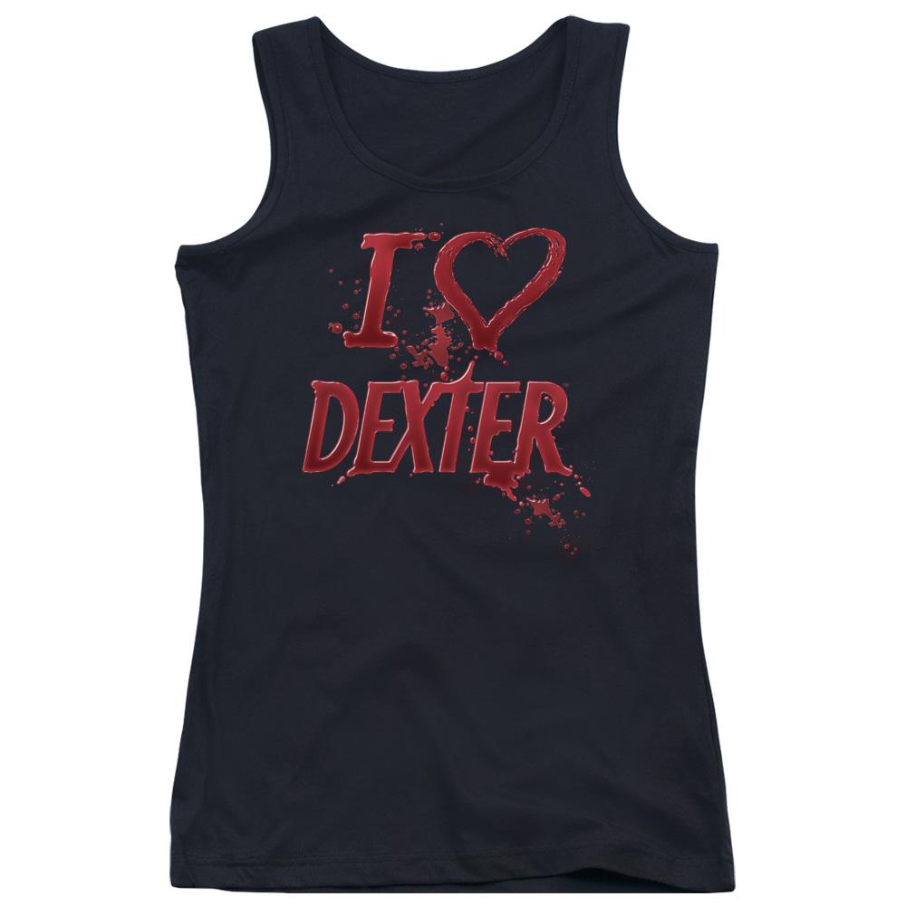 I Love Dexter Juniors Tank Top