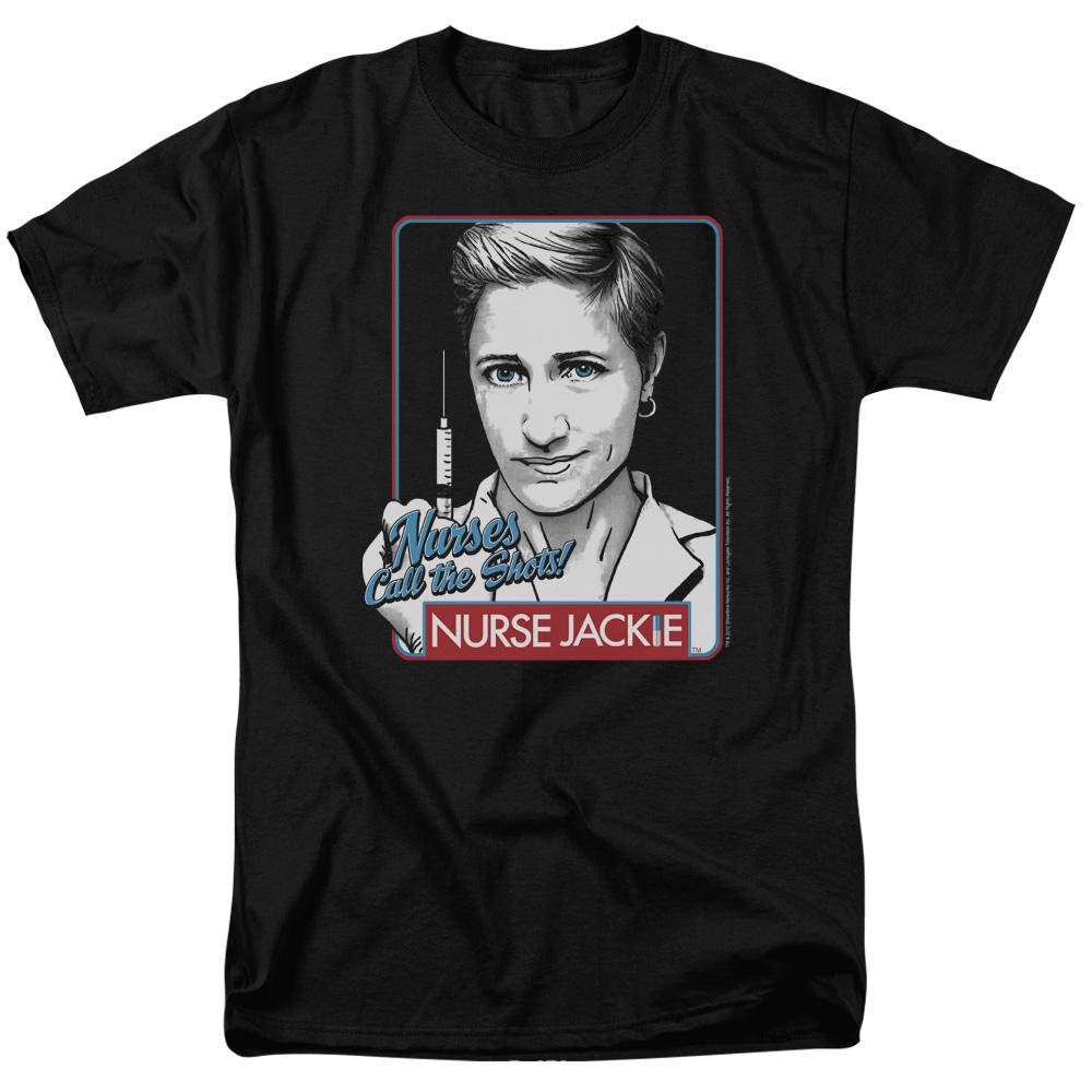 Nurse Jackie - Nurses Call The Shots T-Shirt