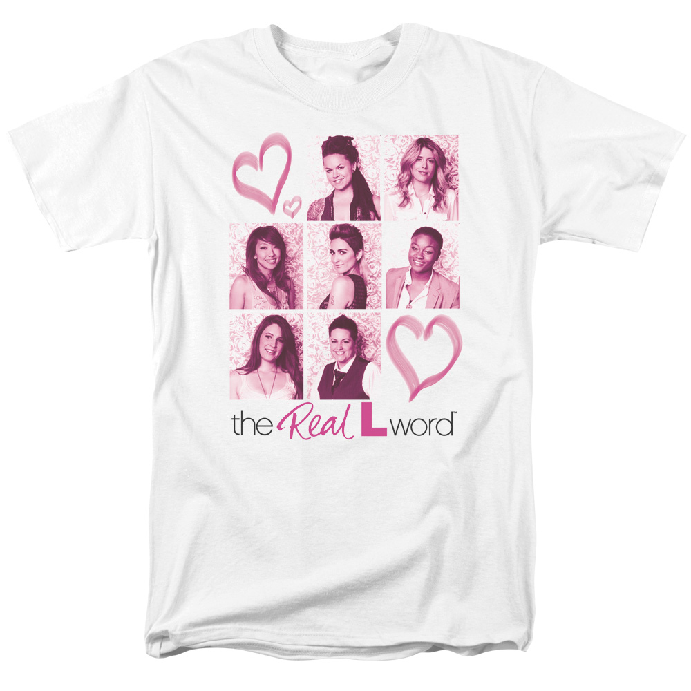 The Real L Word Hearts T-Shirt