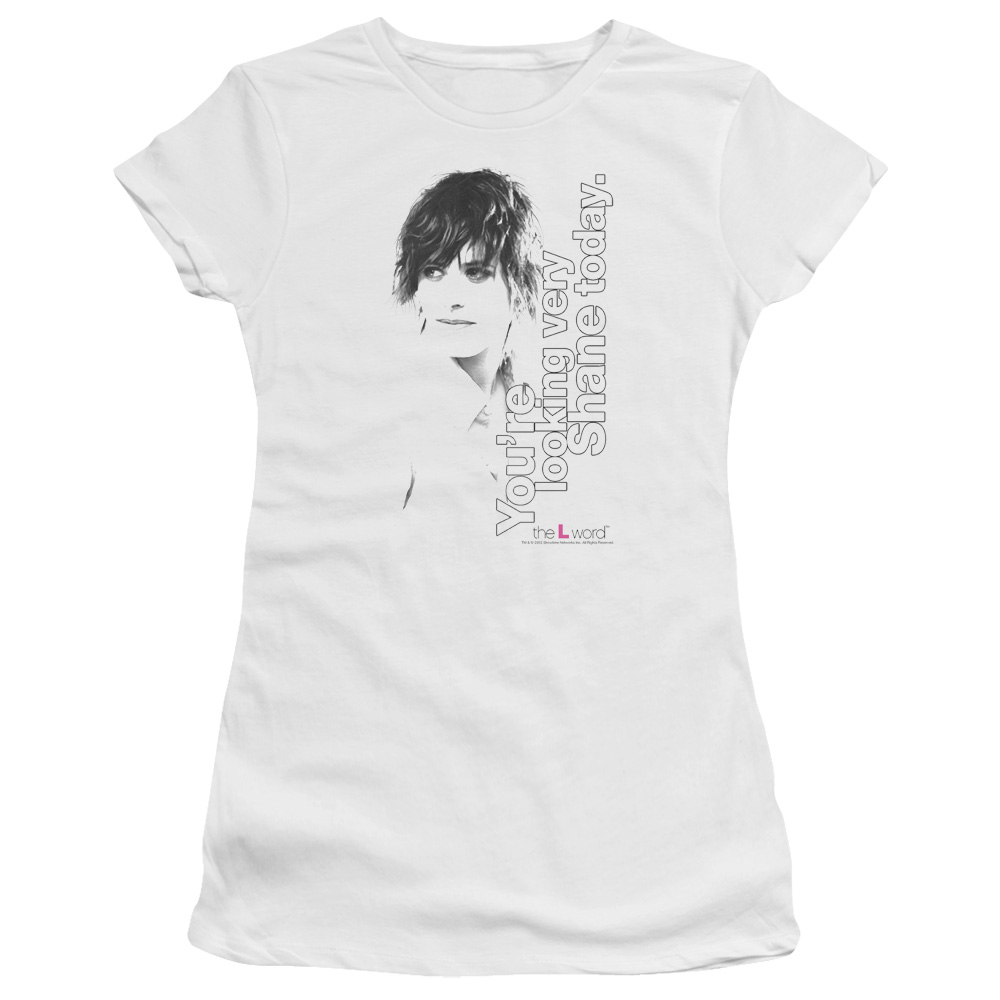 The L Word - Sowtime - Looking Shane Today Junior Fit T Shirt