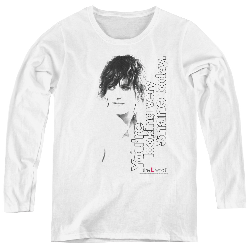 The L Word - Sowtime - Looking Shane Today Women's Long Sleeve Shirt