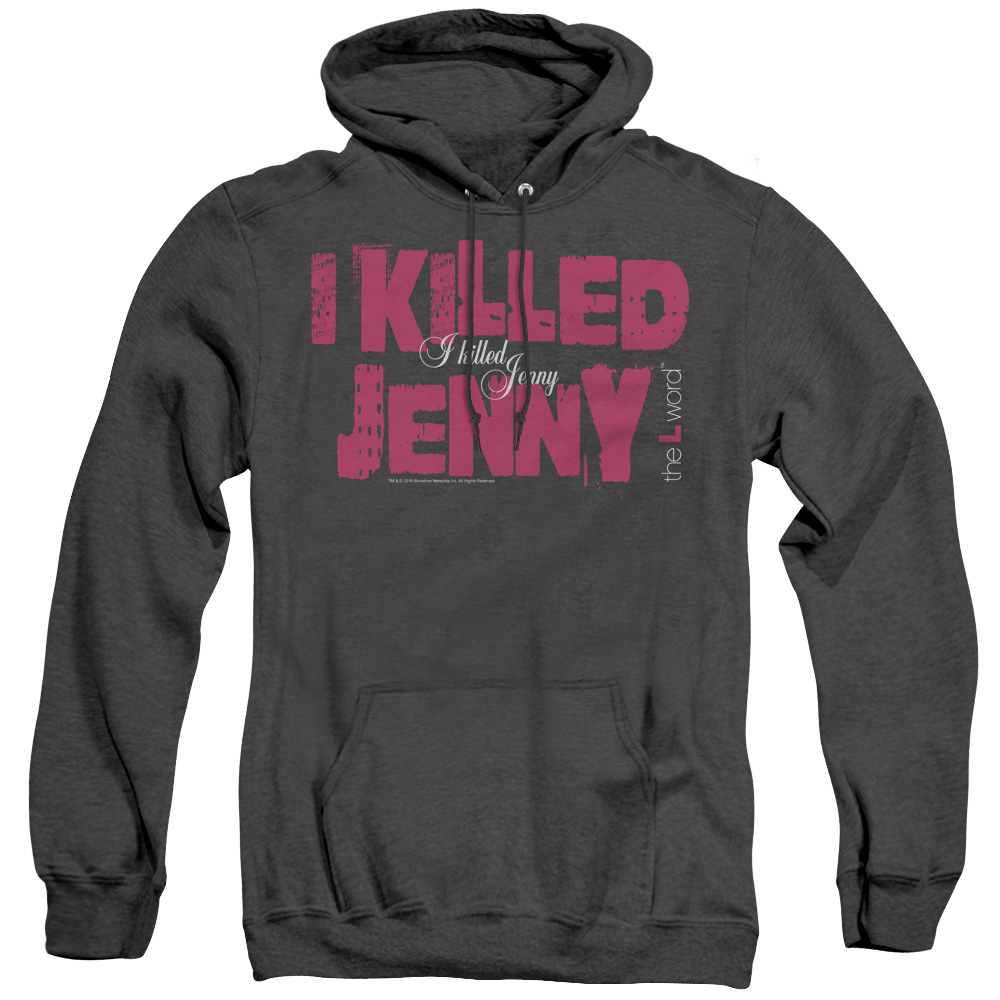 The L Word - Sowtime - I Killed Jenny Adult Heather Hoodie