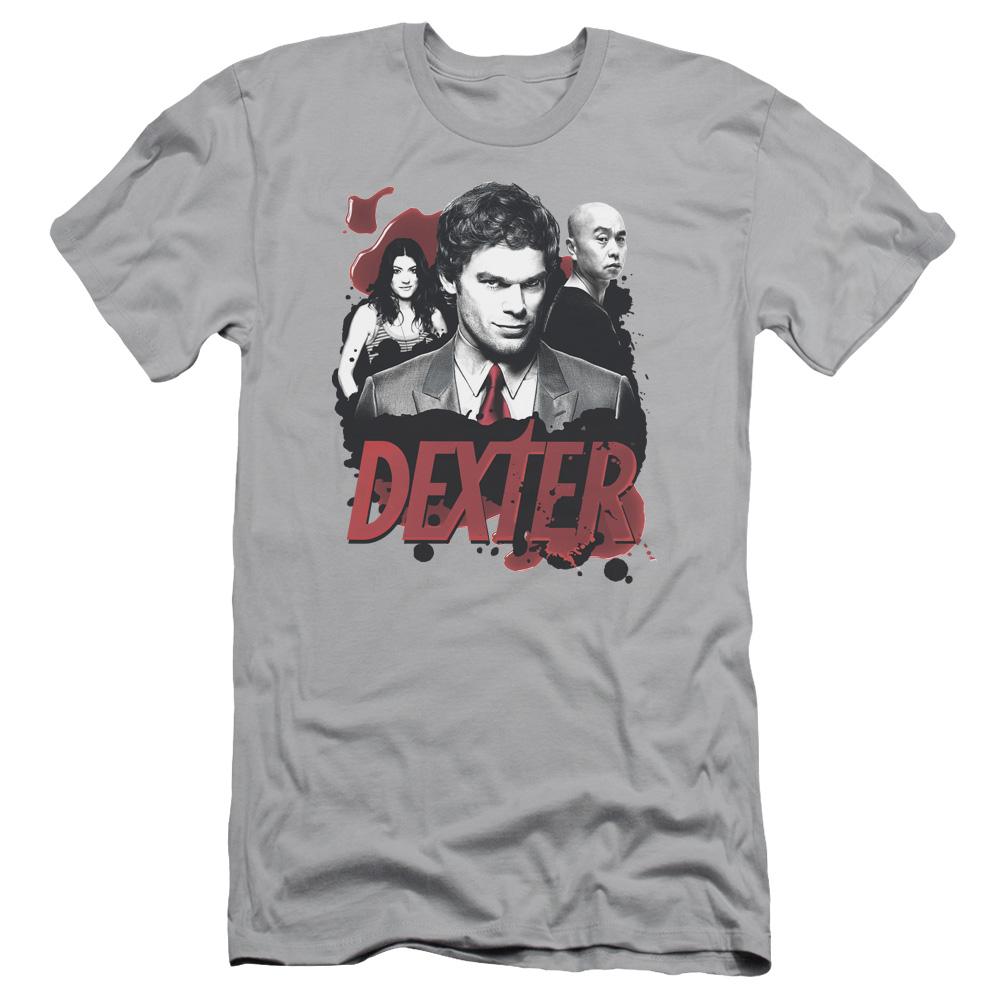 Dexter Bloody Trio Slim Fit T-Shirt