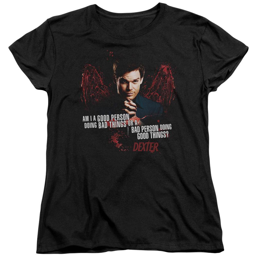 Dexter Good Bad Women's T-Shirt