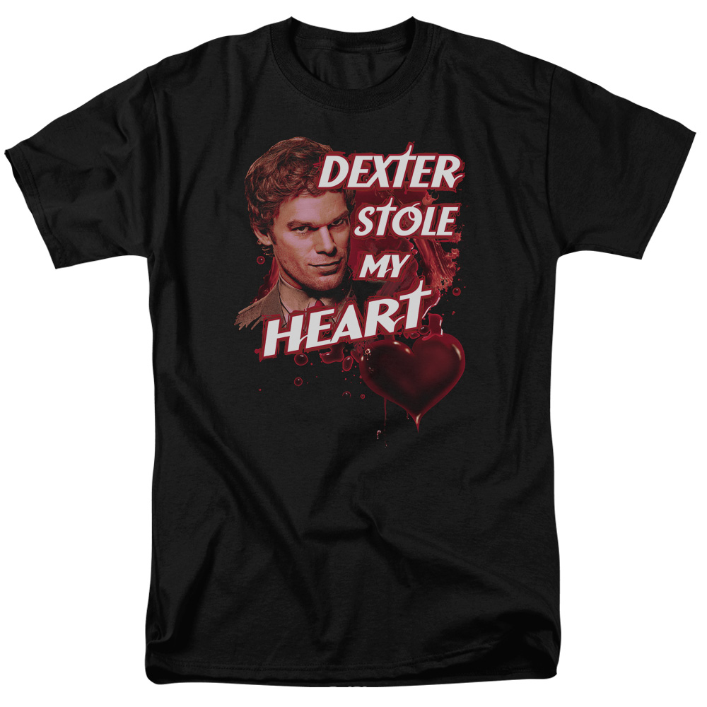 Dexter Bloody Heart T-Shirt
