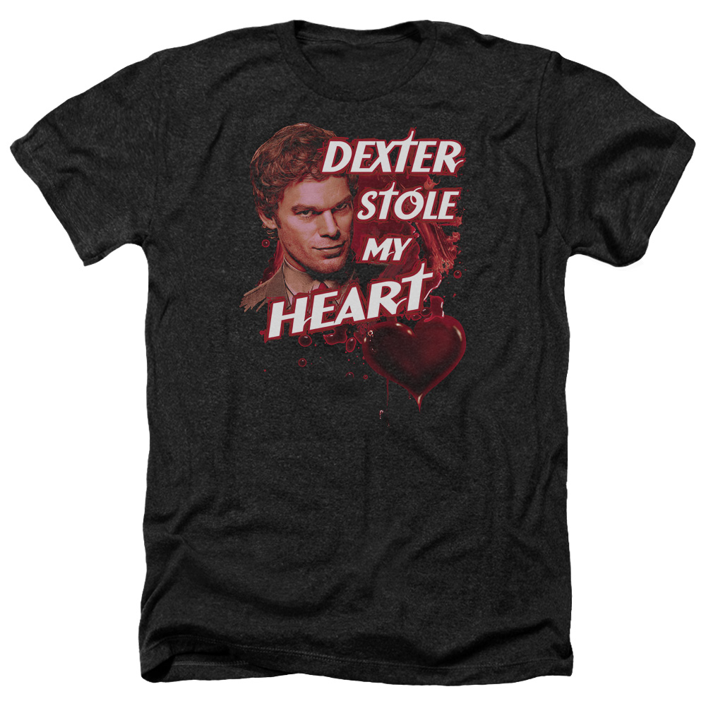 Dexter Bloody Heart Heather T-Shirt