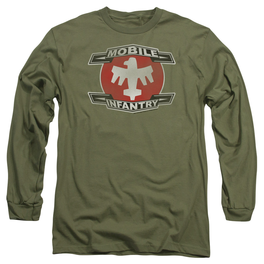 Starship Troopers Mobile Infantry Long Sleeve Shirt
