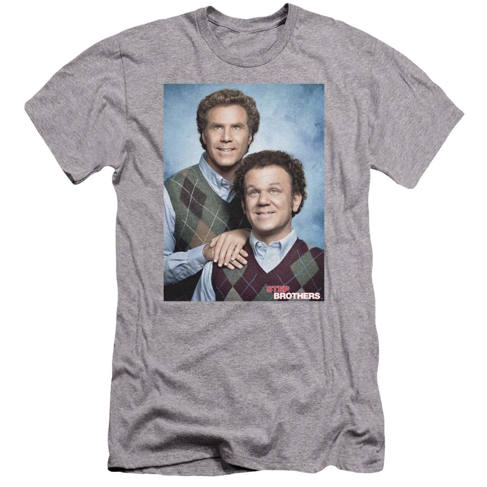 Step Brothers Movie Portrait Premium Slim Fit T-Shirt