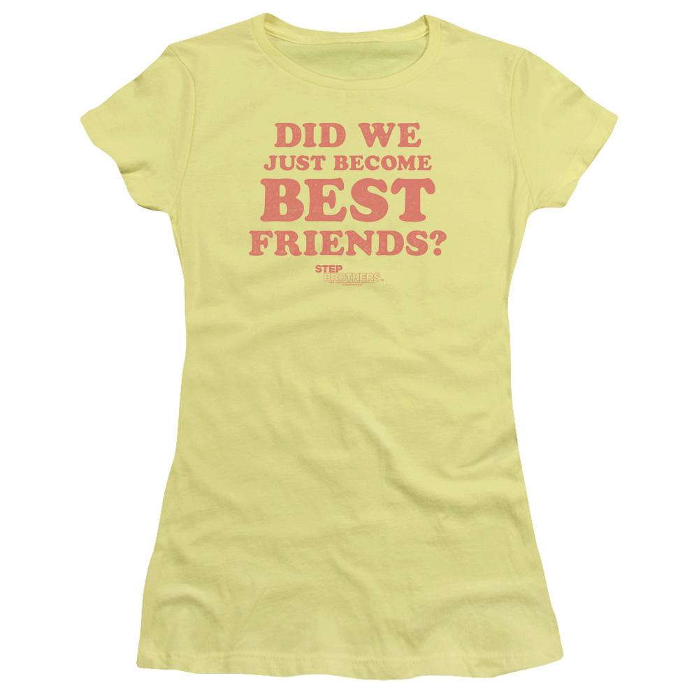 Step Brothers Best Friends Junior Fit T Shirt