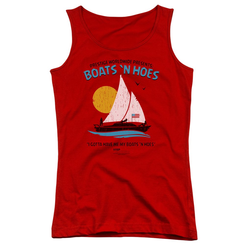 Step Brothers Boats N Hoes Juniors Tank Top