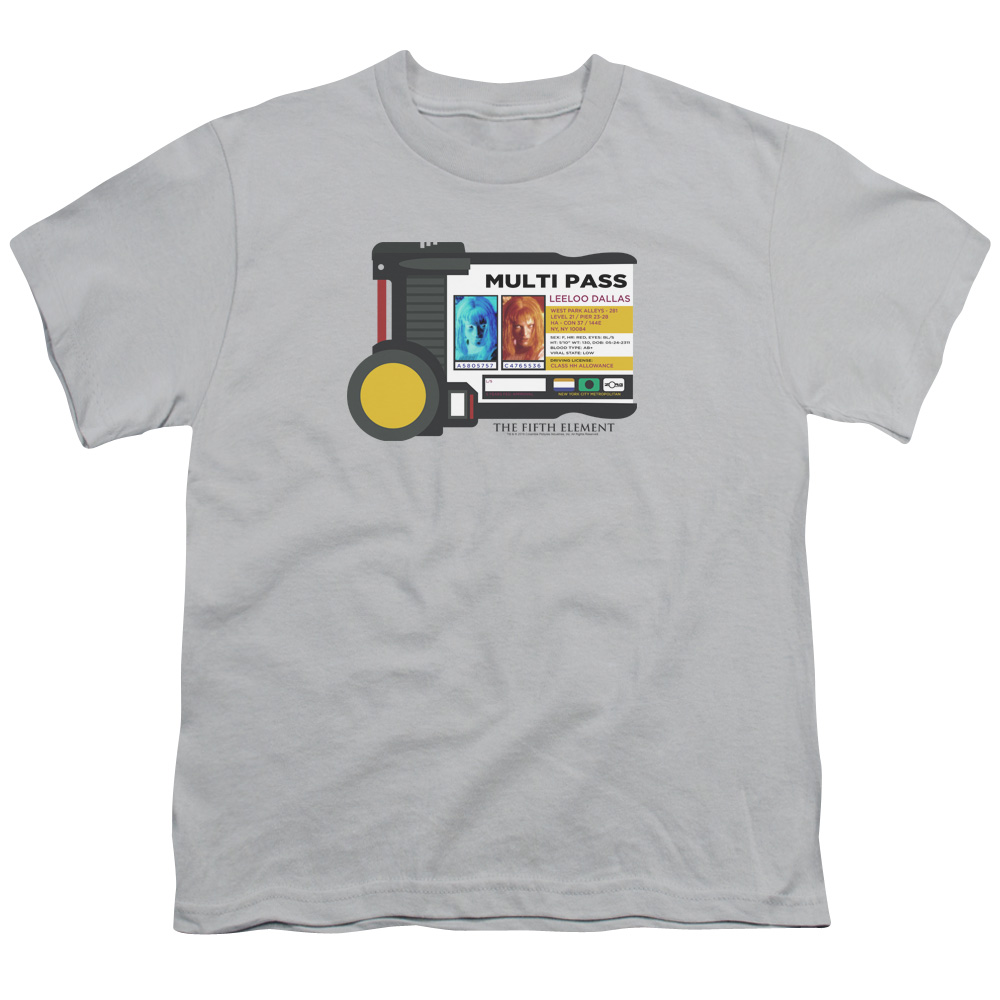 The Fifth Element Multi Pass Kids T-Shirt
