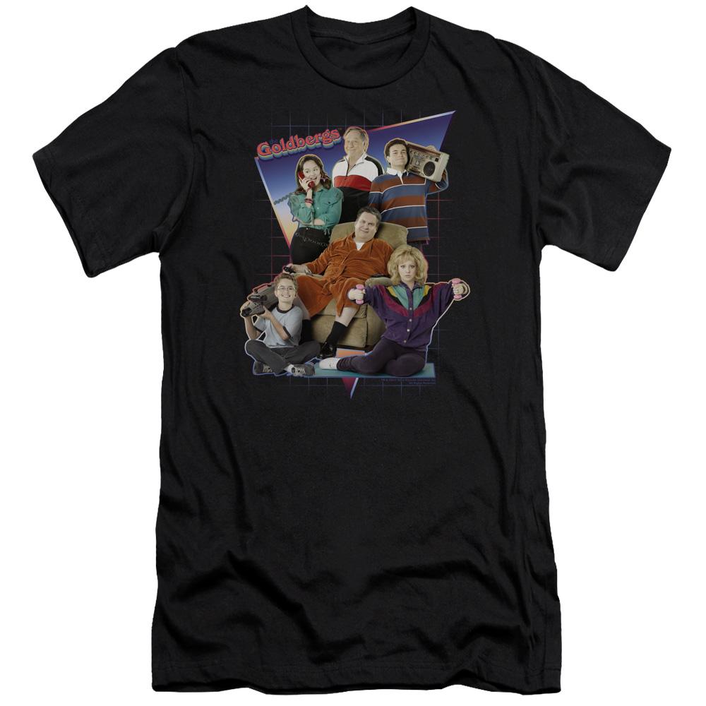 Goldbergs Totally Rad Family Premium Slim Fit T-Shirt