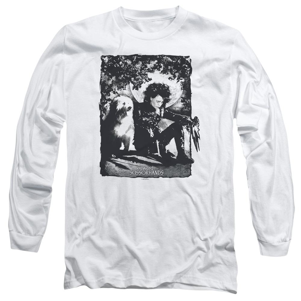 Edward Scissorhands Lucky Dog Long Sleeve Shirt