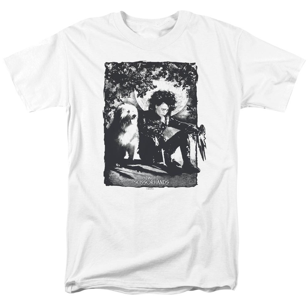 Edward Scissorhands Lucky Dog T-Shirt