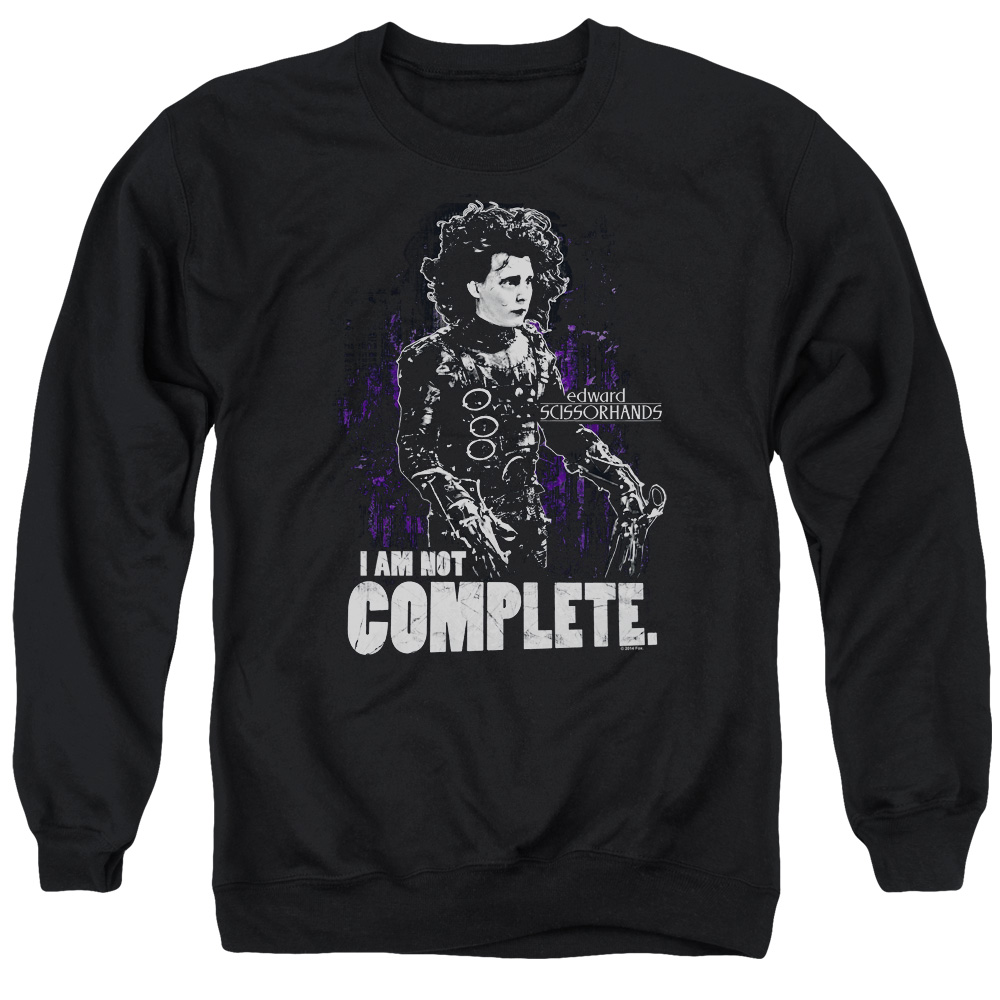 I Am Not Complete Edward Scissorhands Sweater