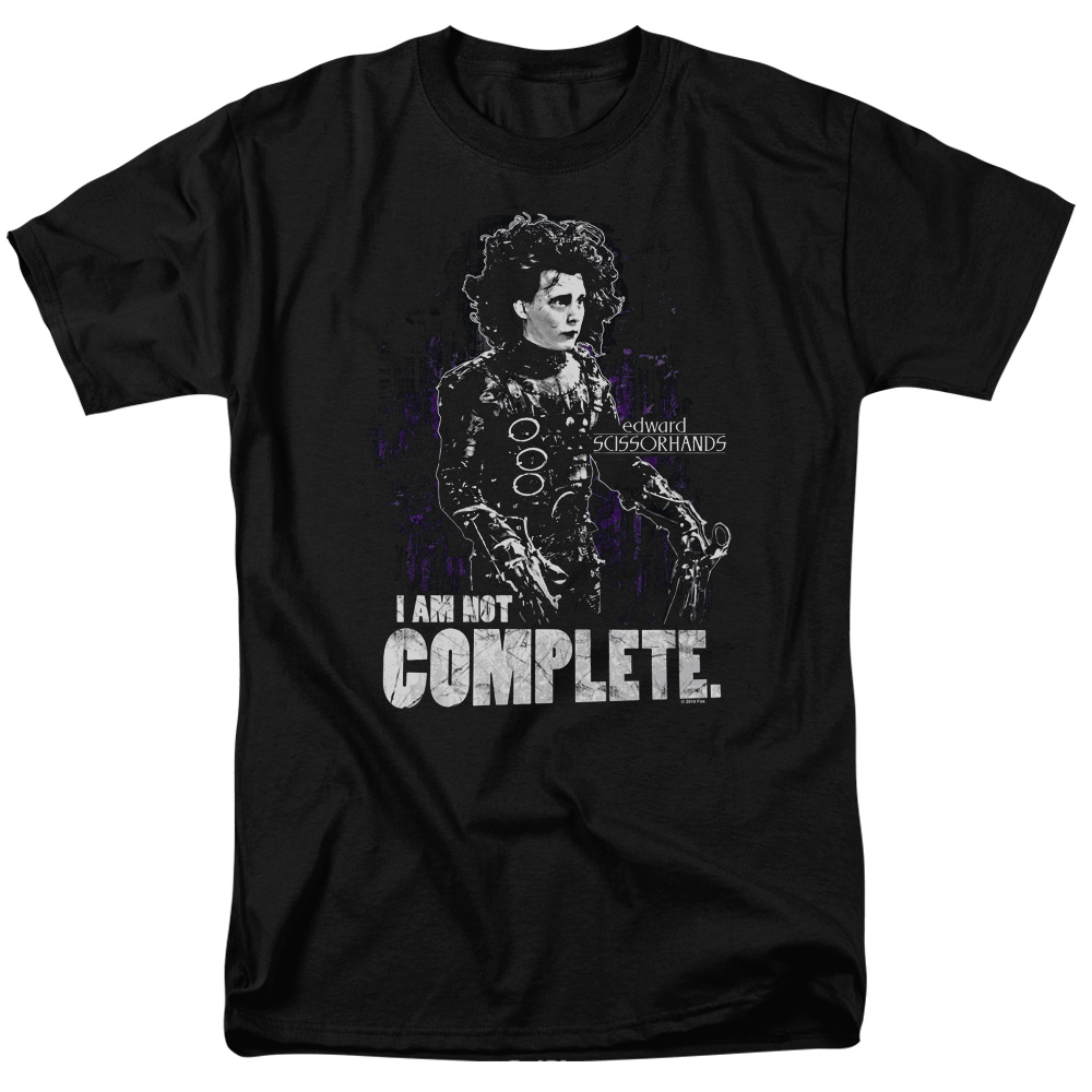 I Am Not Complete Edward Scissorhands T-Shirt