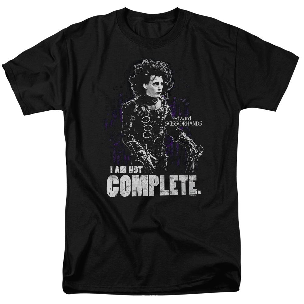 I Am Not Complete Edward Scissorhands T-Shirt