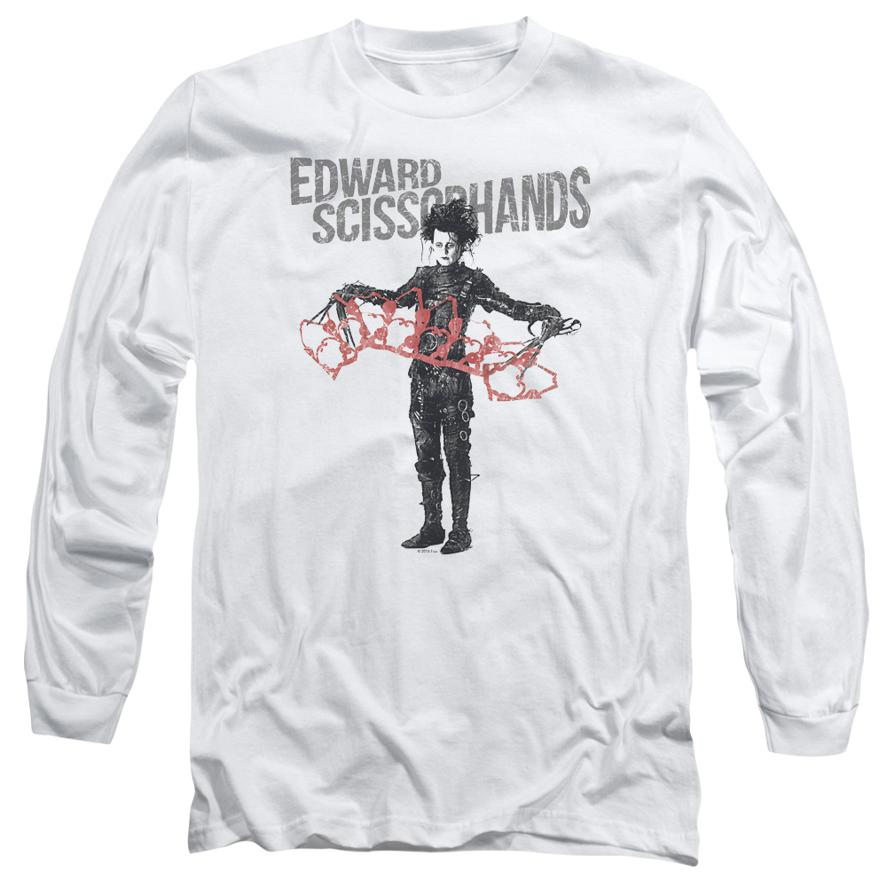 Edward Scissorhands Show & Tell Long Sleeve Shirt