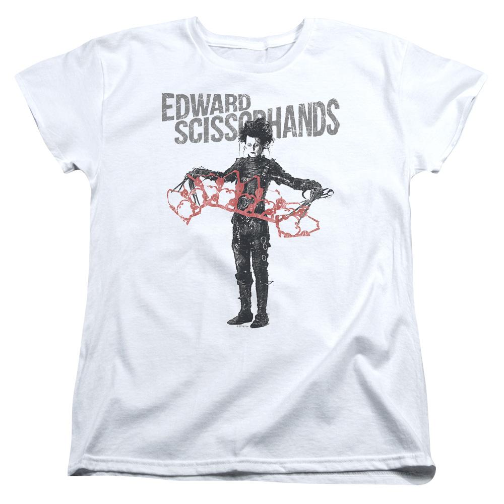 Edward Scissorhands Show & Tell Women's T-Shirt