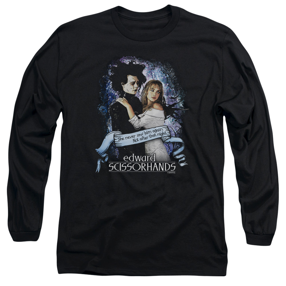 Edward Scissorhands That Night Long Sleeve Shirt