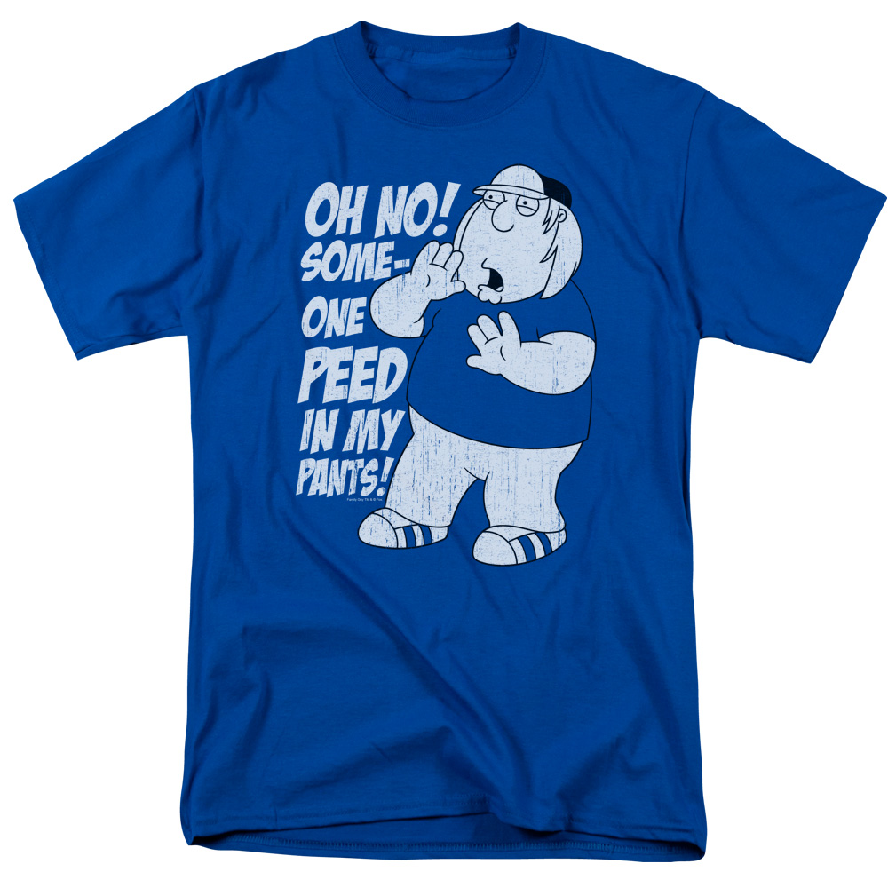 Family Guy Oh No! Someone Peed in my Pants! T-Shirt