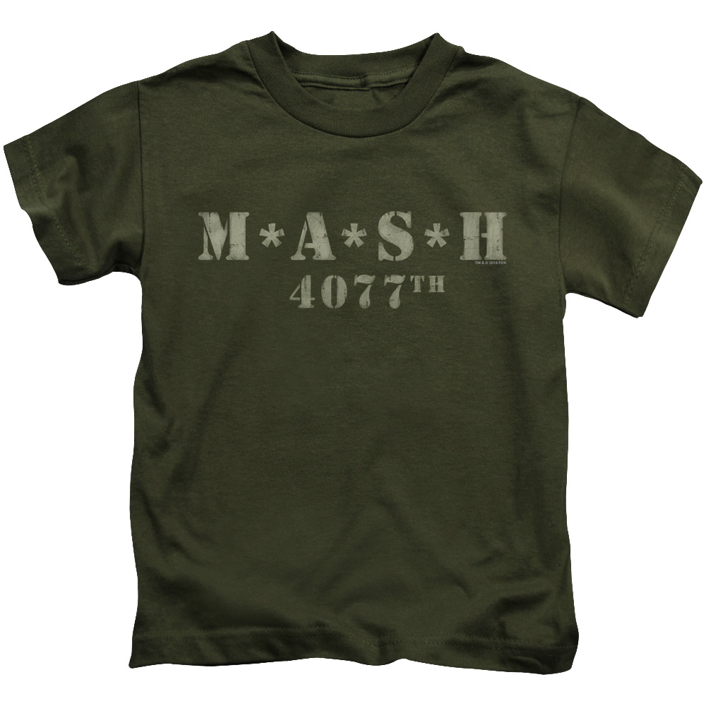 Mash Logo Distressed Juvy T-Shirt
