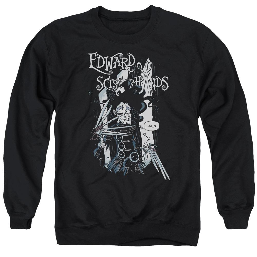 Edward Scissorhands Hello Sweater