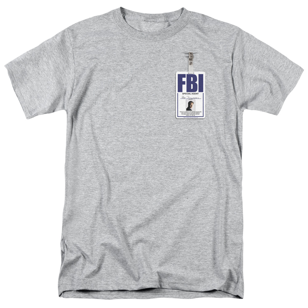 The X-Files - Mulder Badge T-Shirt