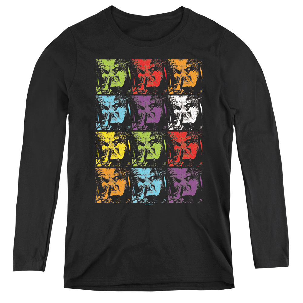 Predator 2018 Warhol Yautja Women's Long Sleeve Shirt
