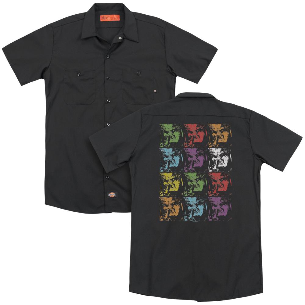 Predator 2018 Warhol Yautja Work Button Up Shirt
