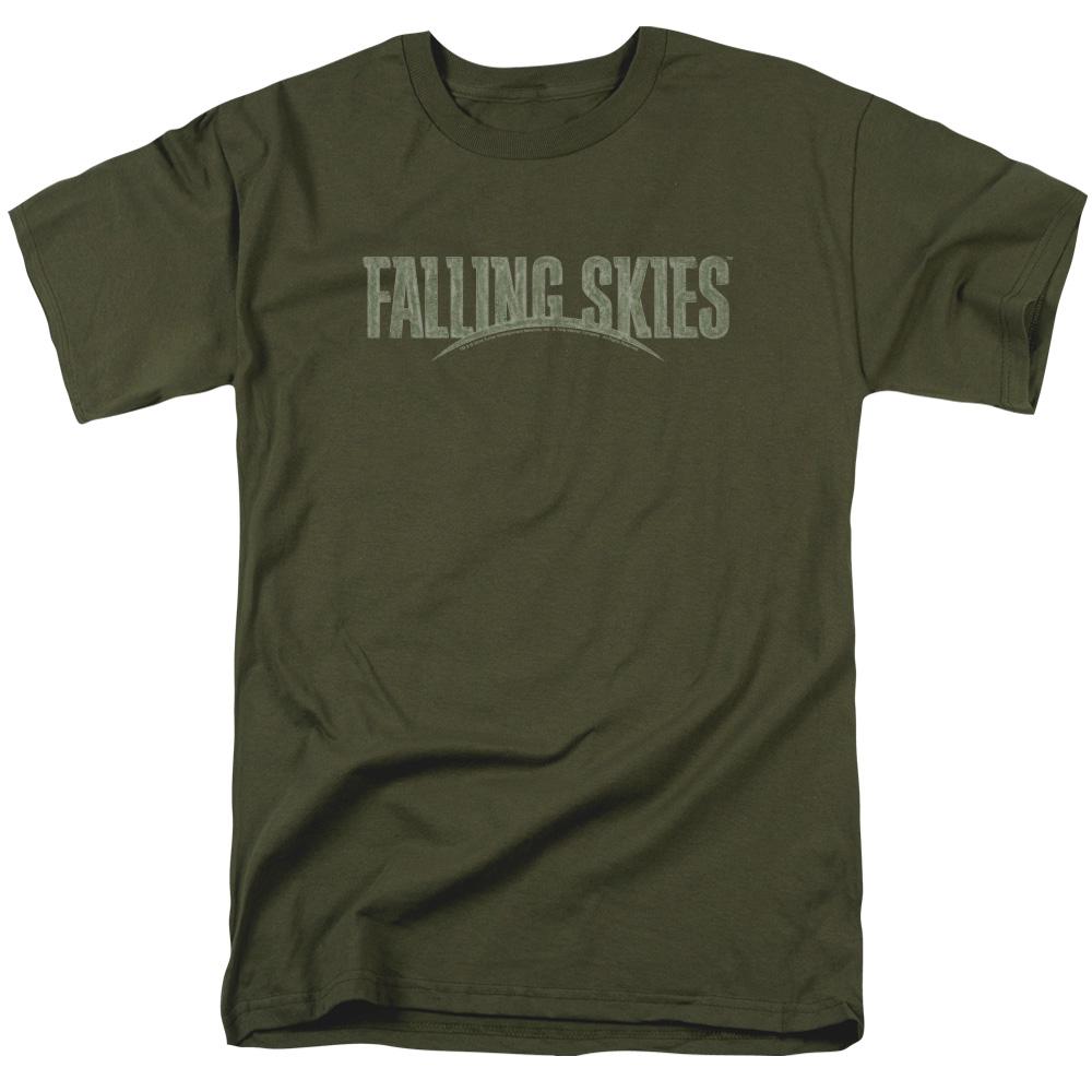 Falling Skies TV Show Distressed Logo T-Shirt