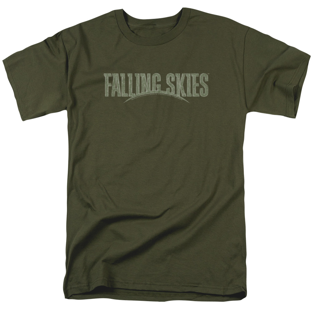 Falling Skies TV Show Distressed Logo T-Shirt
