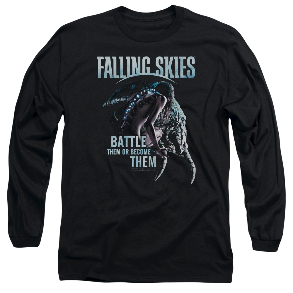 Falling Skies TV Show Battle or Become Long Sleeve Shirt