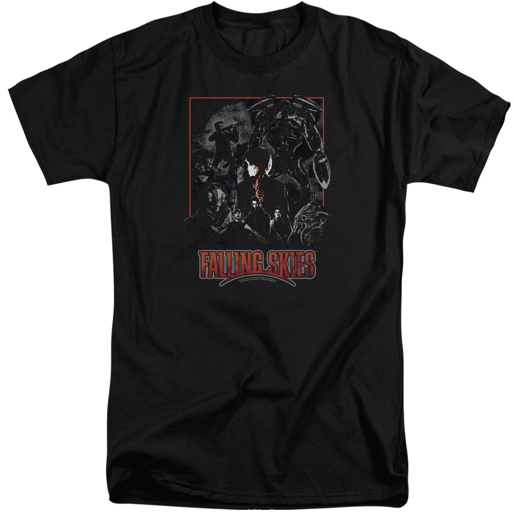 Falling Skies TV Show Collage Tall T-Shirt