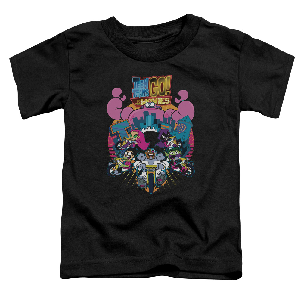 Teen Titans Go To The Movies Burst Through Toddler T-Shirt