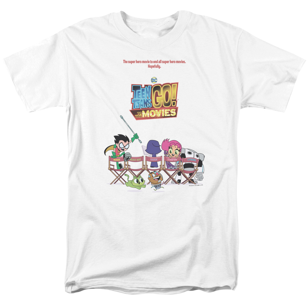 Teen Titans Go To The Movies Poster T-Shirt