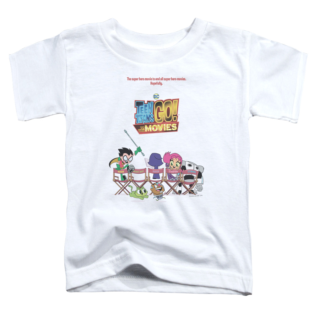 Teen Titans Go To The Movies Poster Toddler T-Shirt