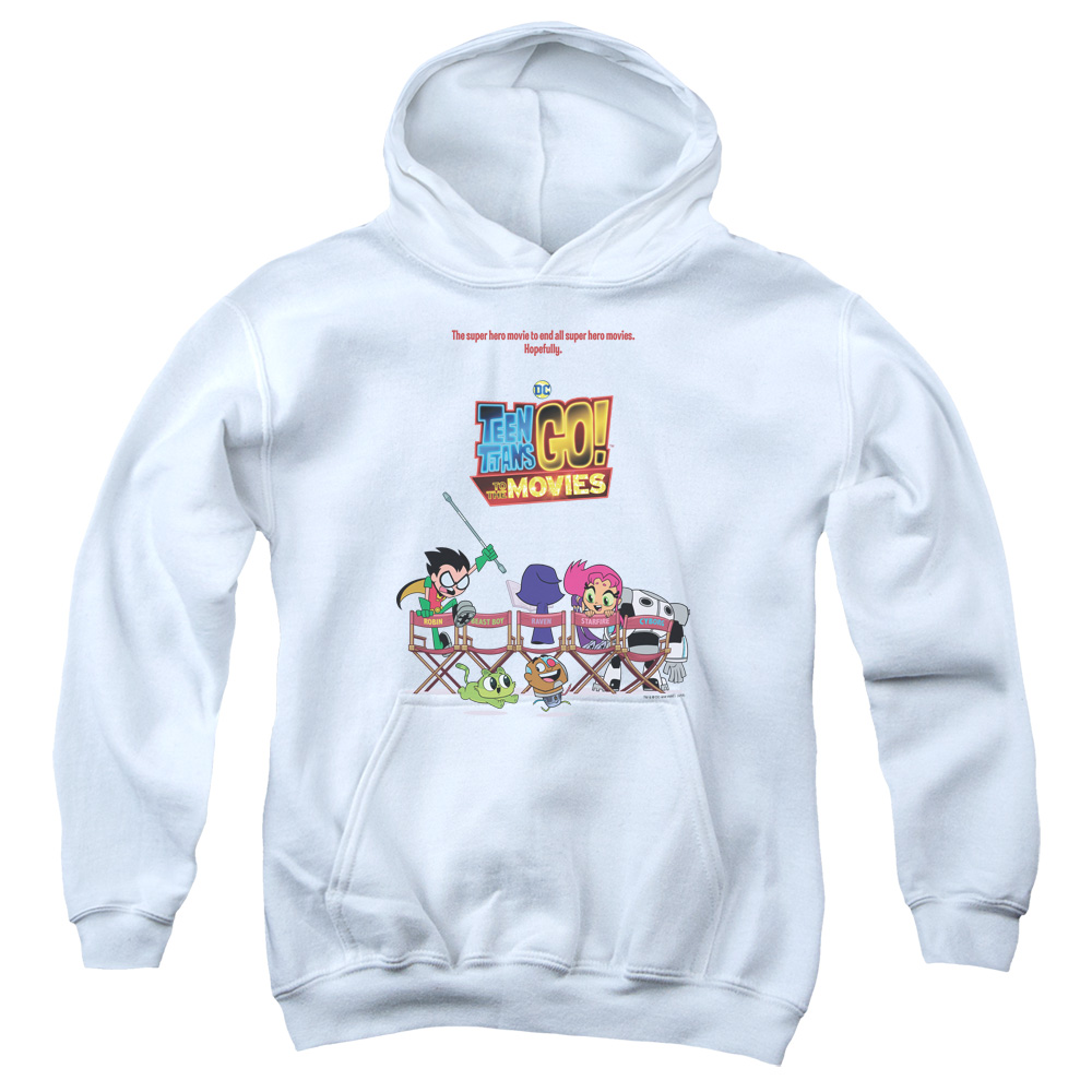 Teen Titans Go To The Movies Poster Kids Hoodie