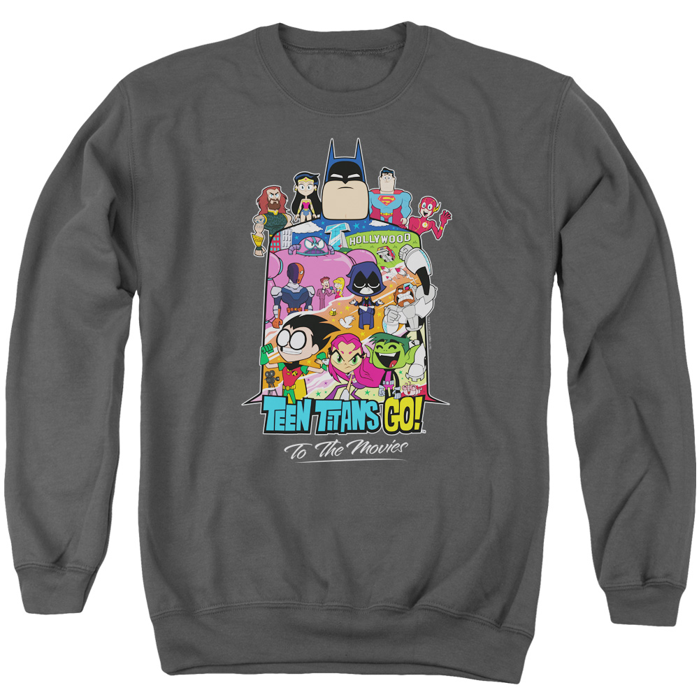 Teen Titans Go To The Movies Hollywood Sweatshirt