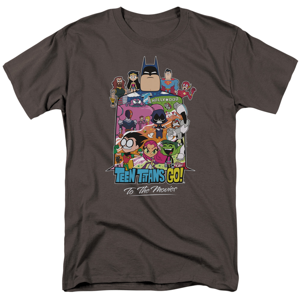 Teen Titans Go To The Movies Hollywood T-Shirt