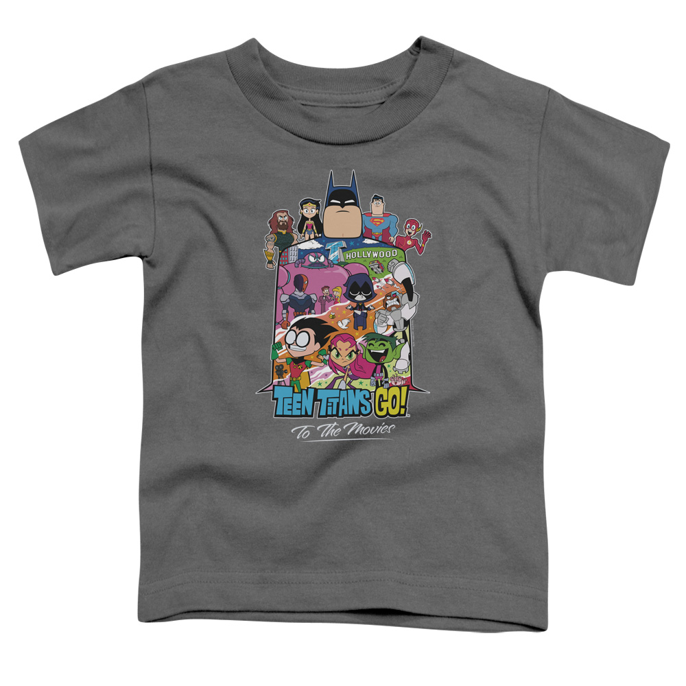 Teen Titans Go To The Movies Hollywood Toddler T-Shirt