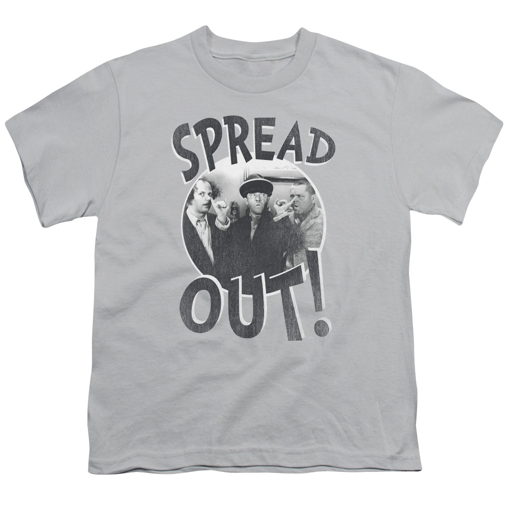 The Three Stooges Spread Out Kids T-Shirt