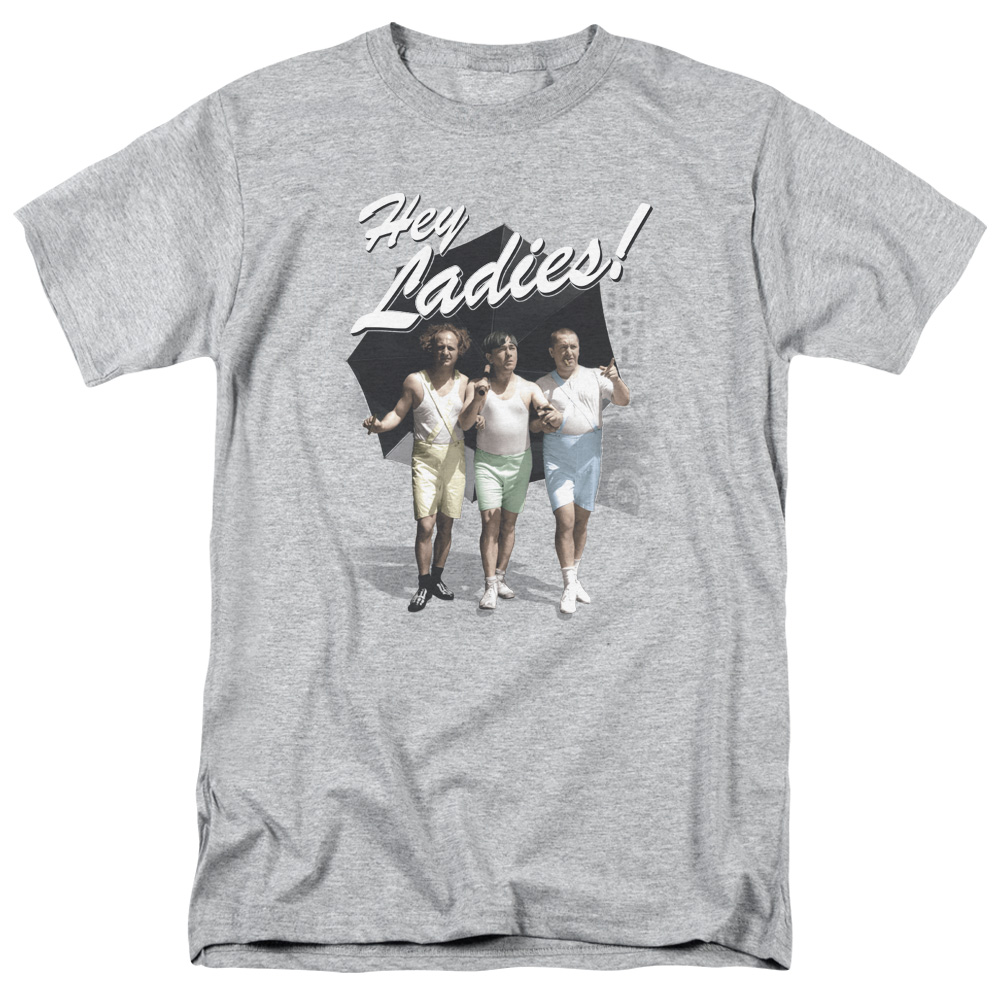 The Three Stooges Hey Ladies T-Shirt
