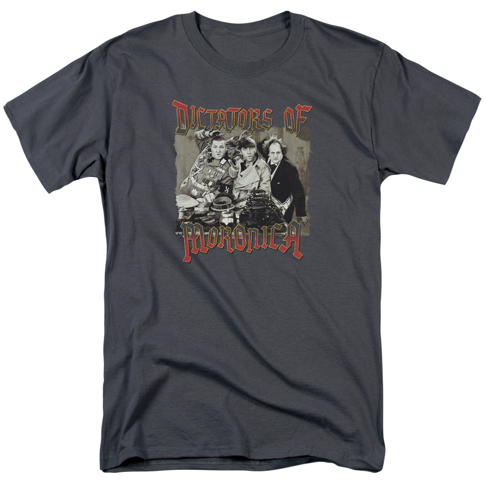 The Three Stooges Dictators Of Moronica T-Shirt
