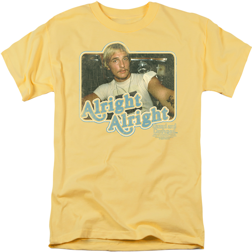 Dazed and Confused Alright Alright T-Shirt
