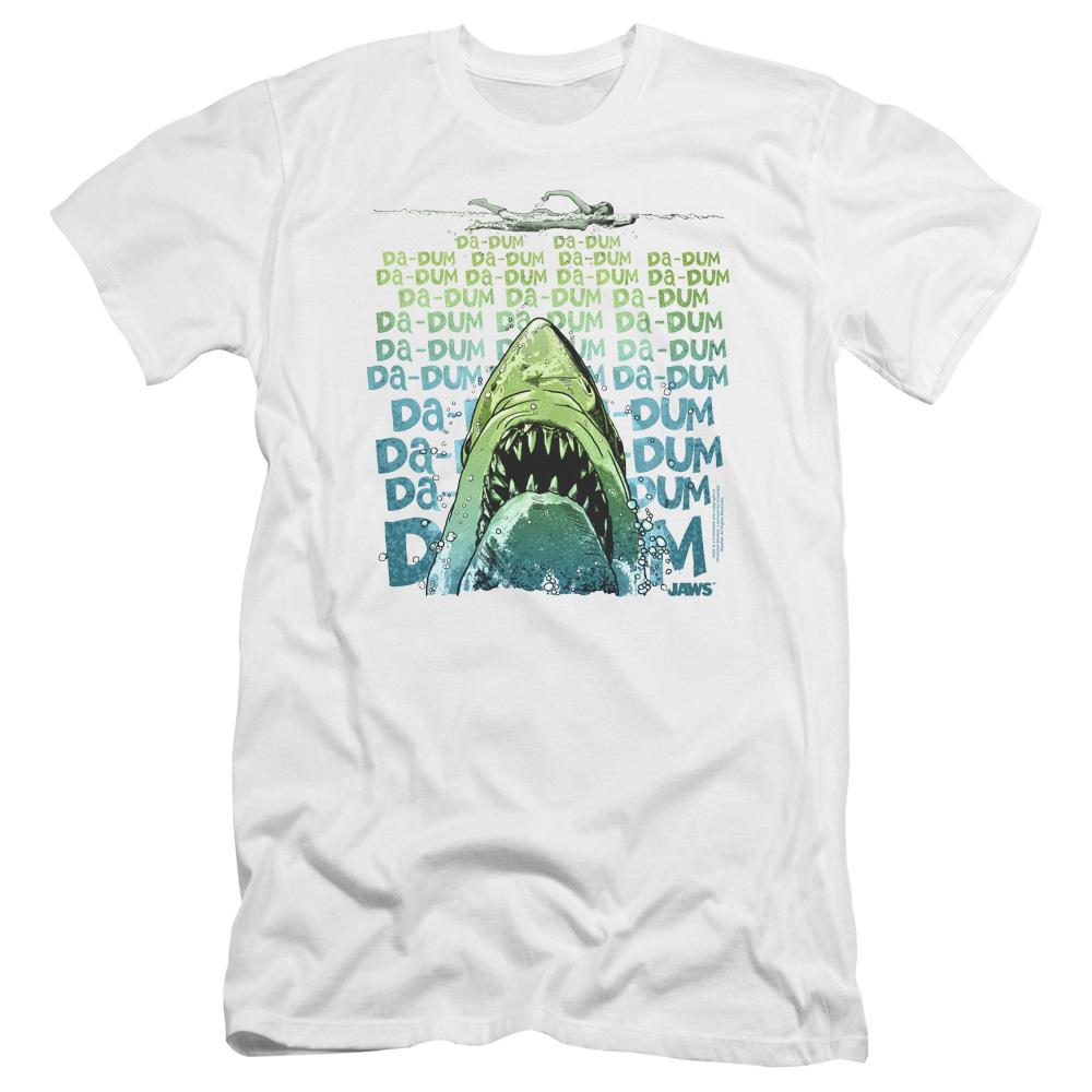 Jaws Da Dum Premium Slim Fit T-Shirt